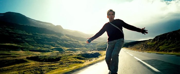 The Secret Life of Walter Mitty, Skateboarding
